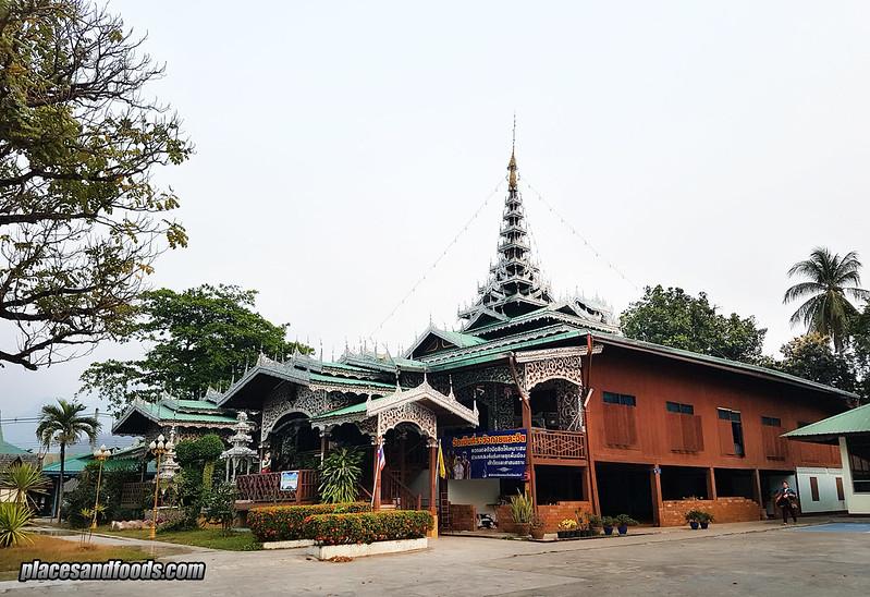 wat jong kham temple mae hong son