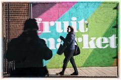 Reflecting Street Walker