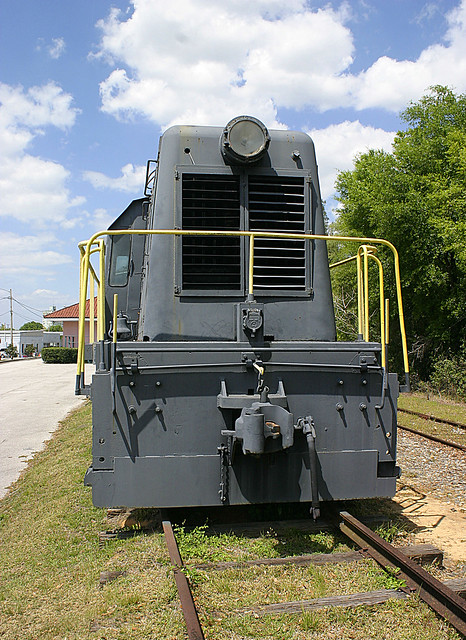 Centercab Switcher, Lake Wales Depot Museum (3 of 3)