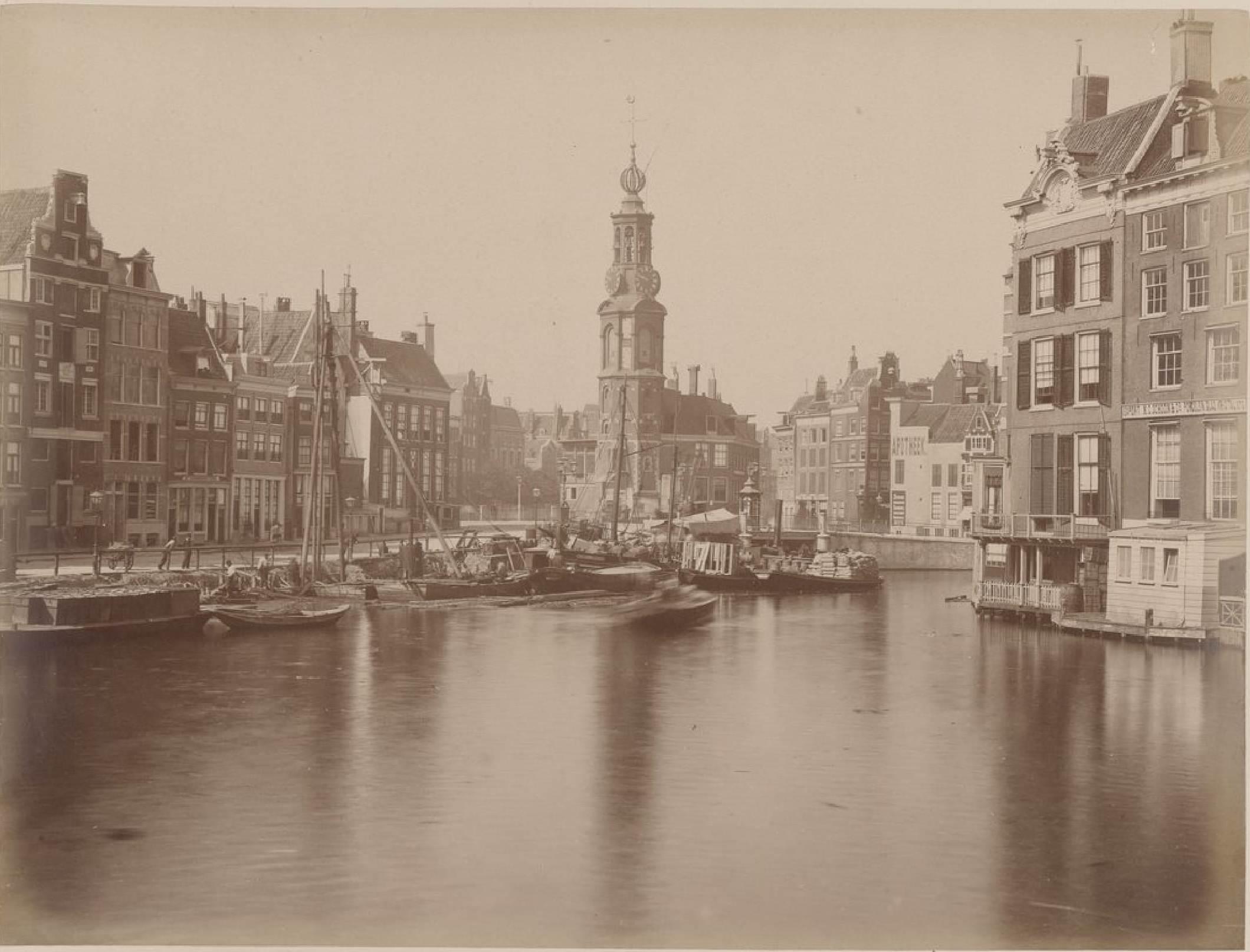 Амстердам. Монетная башня, 15 мая 1888