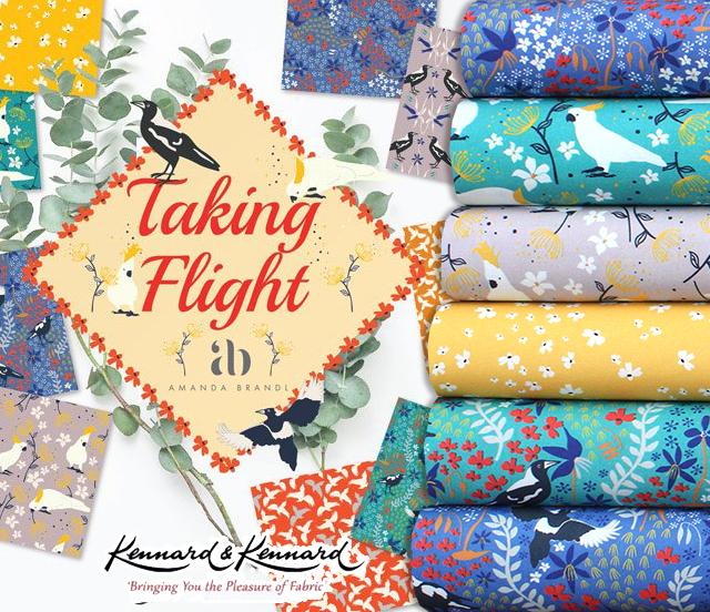 Kennard & Kennard Taking Flight Collection by Amanda Brandl