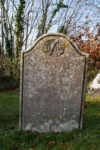 Reynolds Stone memorial, Litton Cheney