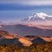 El Illimani desde el Chacaltaya 5400m by L. Mauricio Aguilar