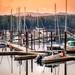 Orange sky dock by kellypettit