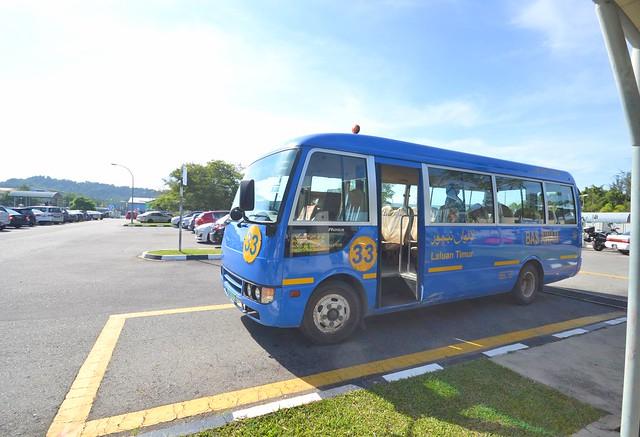 kota kinabalu brunei itinerary bus 33 serasa ferry terminal to bandar seri begawan