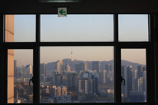 SEOUL VIEW WITH WINDOW