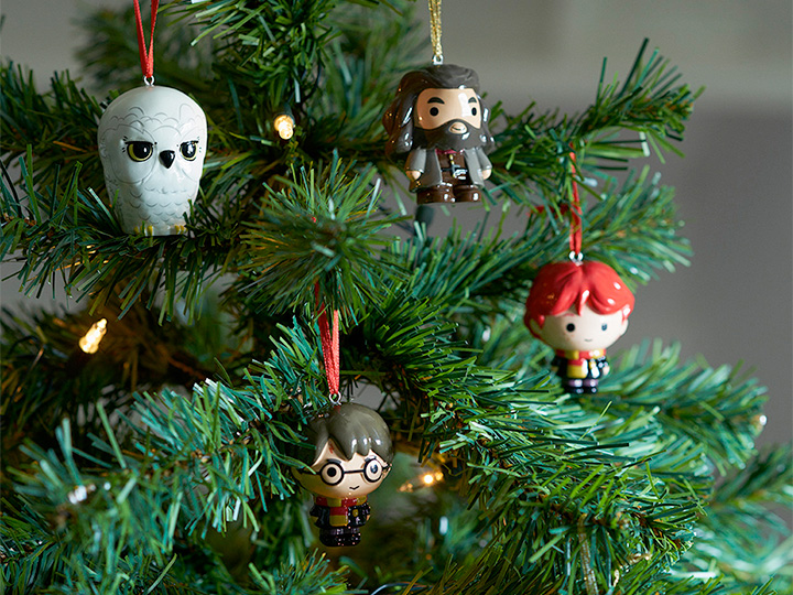 Harry Potter kerstversiering