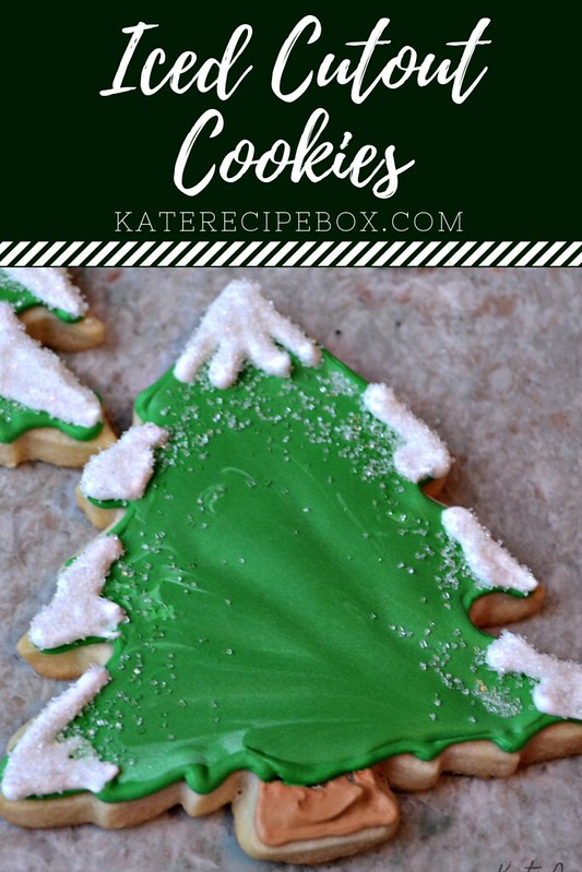 Iced Cutout Cookies