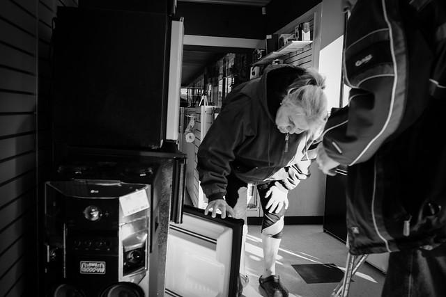 Pawn Shop Refrigerator #LifeinOshkosh