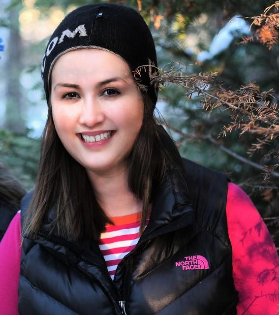 Winter Woods Walk With Brenna