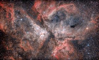 Eta Carina Nebula NGC3372