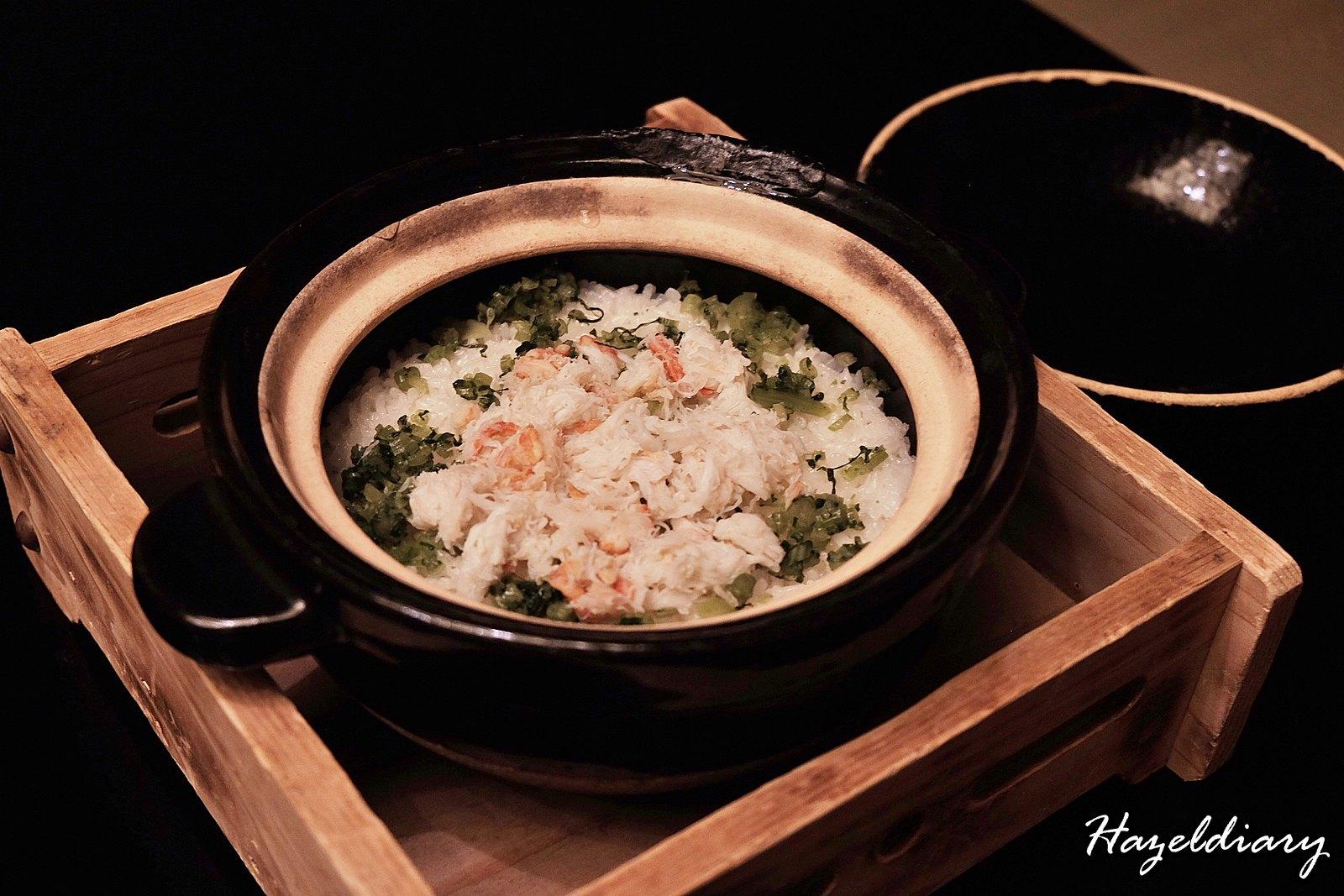kaiseki soujuan keio plaza hotel tokyo-crab meat rice