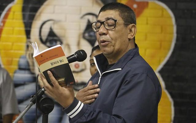 Poeta Sérgio Vaz, 54, criador da Cooperifa - Créditos: Divulgação