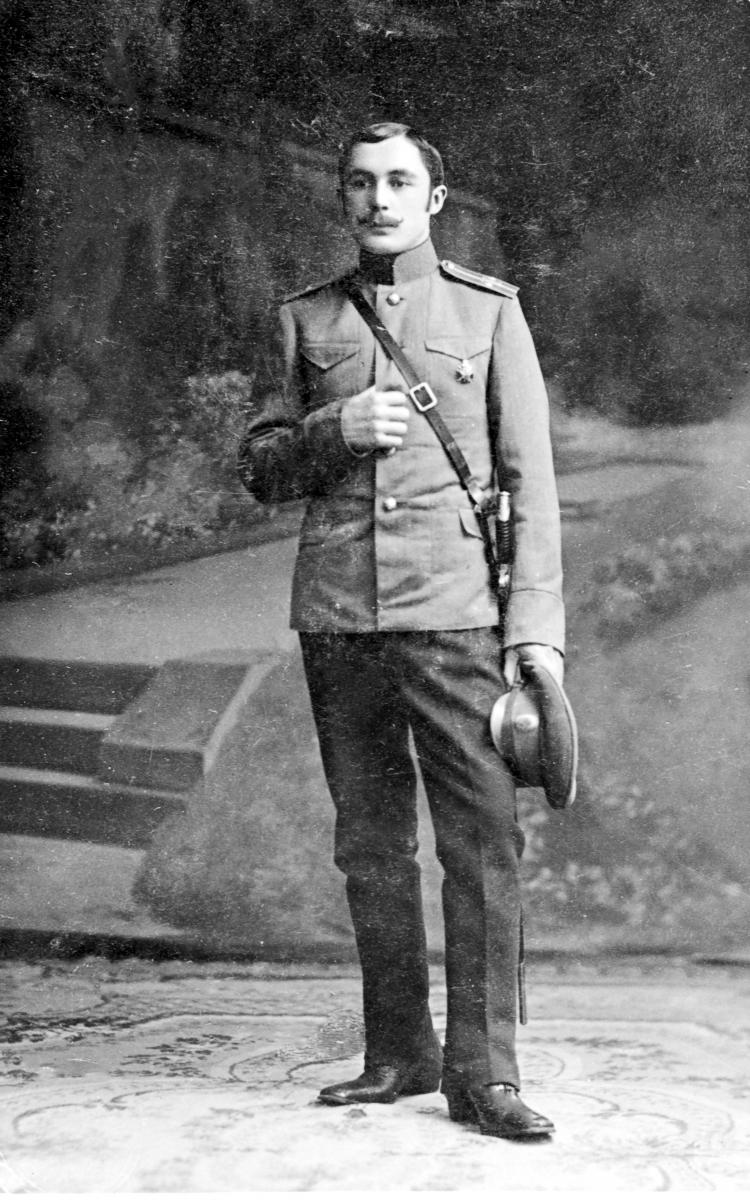 1915. Китаев Константин Иванович – курянин, командир роты в годы 1-й Мировой войны
