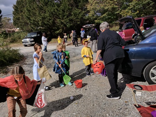 Trunk or Treat at Paint Branch Unitarian Universalist Church