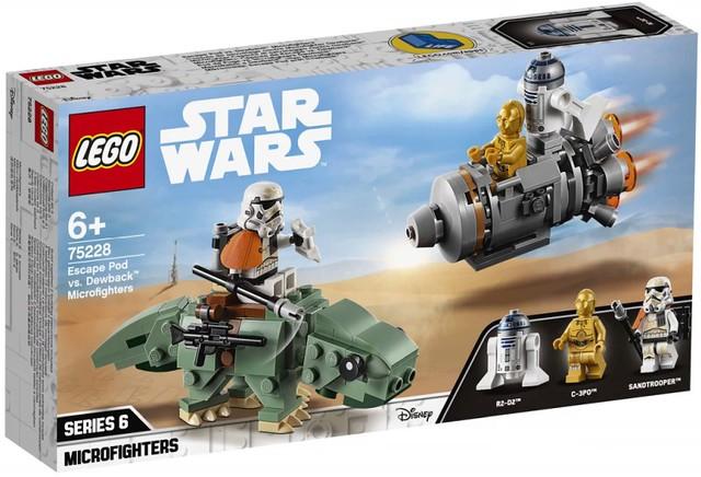 人氣角色輕鬆入手、拼搭形式濕背獸超可愛! LEGO《星際大戰》Star Wars 2019上半年盒組公開!!