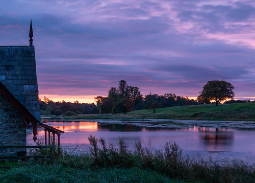 The Boathouse at Dawn