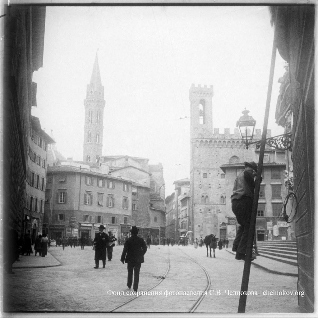 Флоренция. Трубочист