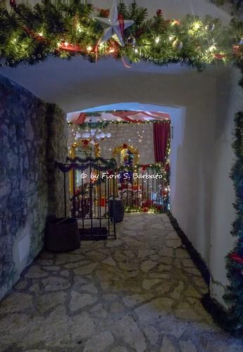 Apice (BN), 2018, Il Castello dell'Ettore durante i mercatini di Natale.