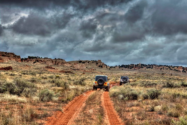 Jeeping the Paria outback