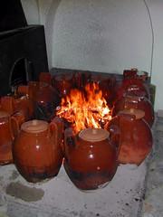 """Cascano (CE), 2004, La festa di San Giuseppe o delle """"coccetelle""""."""