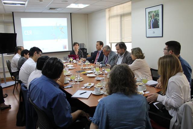 Comité Espejo y presentación proyecto CER Latam