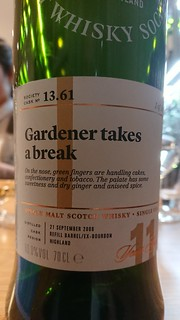 SMWS 13.61 - Gardener takes a break