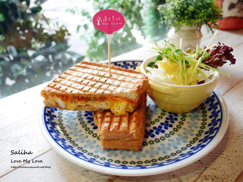 台北中山區行天宮站附近餐廳推薦遇見美好好吃早午餐 (1)