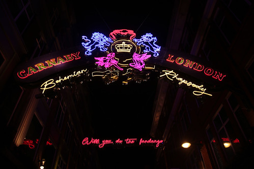 Natale a Carnaby street