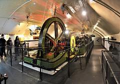 Tower Bridge Engine Room 2. Stitched image.Niikon D3100.  DSC_0287-0292