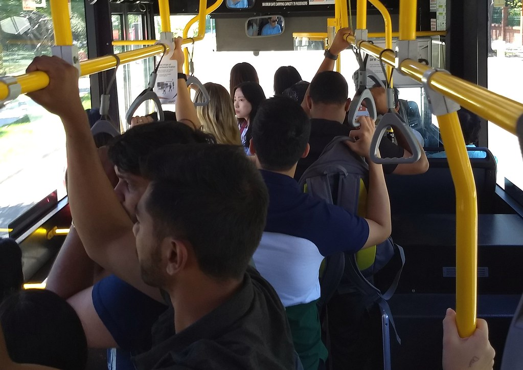 624 bus to Chadstone, Boxing Day 2018