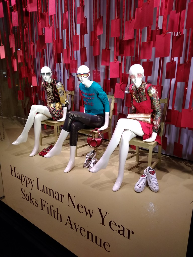 Happy Lunar New Year Saks Fifth Avenue