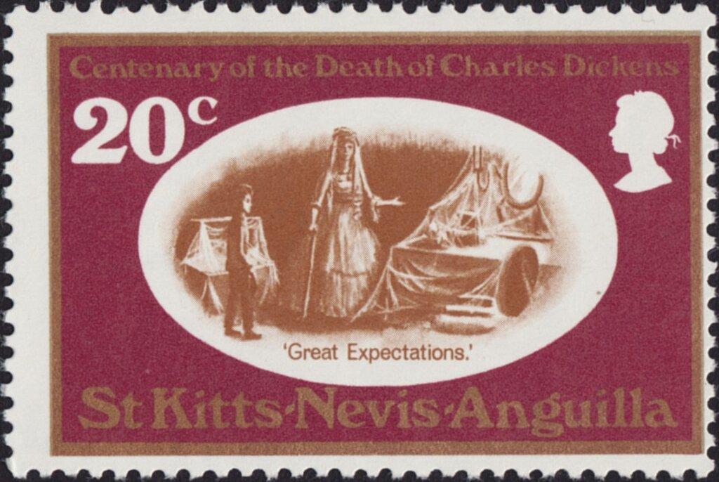 St. Kitts-Nevis-Anguilla - Scott #224 (1970)