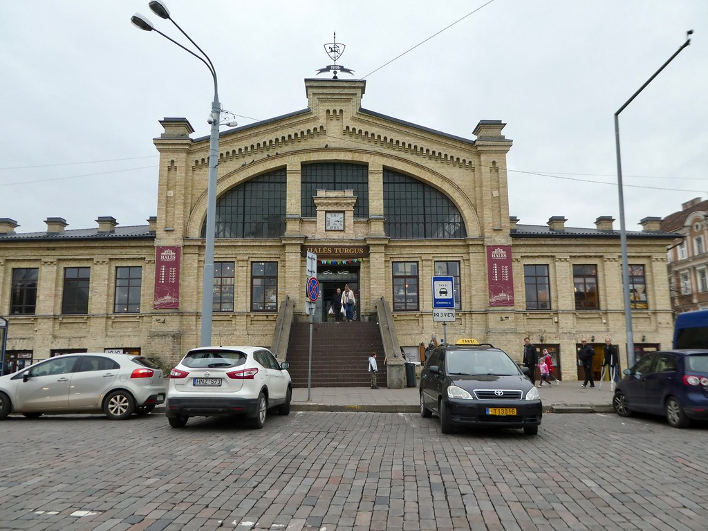 Vilnius Indoor Market Hall