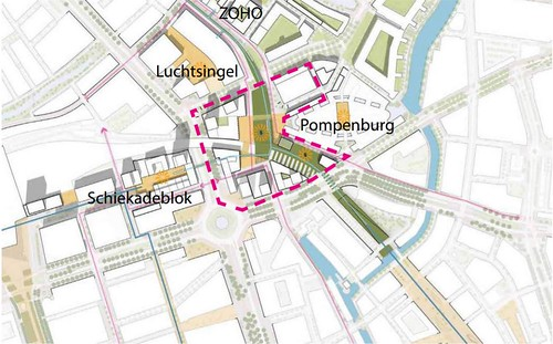 Pompenburg ZoHo Schiekadeblok