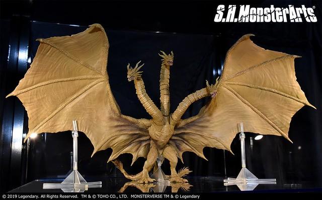 S.H.MonsterArts《哥吉拉2:怪獸之王》哥吉拉(2019) / 摩斯拉(2019) / 王者基多拉(2019) / 拉頓(2019) 上色原型公開!