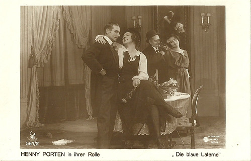 Henny Porten in Die blaue Laterne (1918)