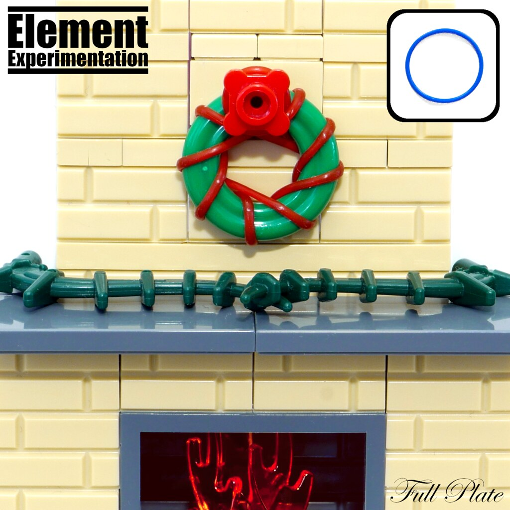 Element Experimentation: Christmas Wreath