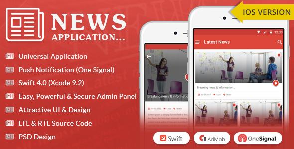 iOS News App – Swift4