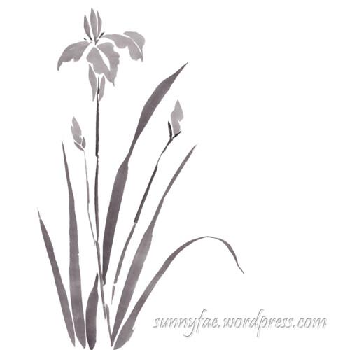 inktober day 31 iris