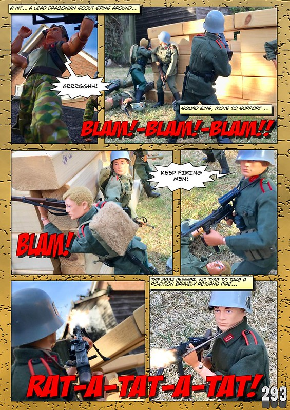 BAM2272 Presents - An Old Face Returns! Chapter Eighteen - The Munrovians Prepare their defences - Part Two 45056261004_04f16b121b_c