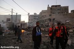 Gaza under attack, Gaza strip, 27.10.2018