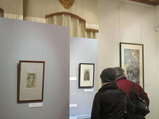 Гости на выставке. 3