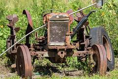 Belize. Mennonites Abandoned Tractor