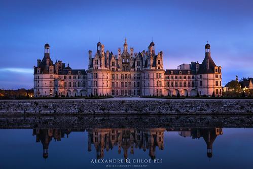Château de Chambord🏰🌃