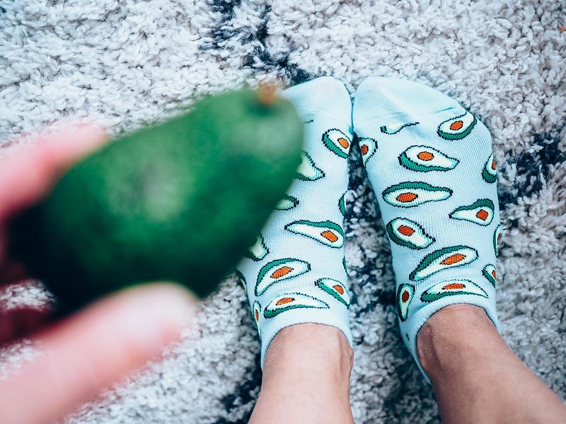 P7048819, avokado, avocado socks, avokado sukat,