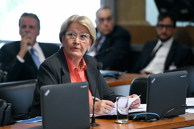 Senadora Ana Amélia (PP-RS), integrante da bancada ruralista e autora do PLS 181/2018  - Créditos: Edilson Rodrigues/Agência Senado