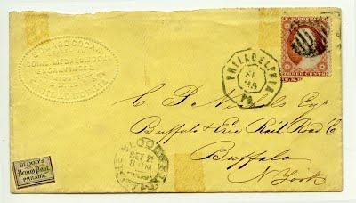 Cogan 1860 letter to C.P. Nichols