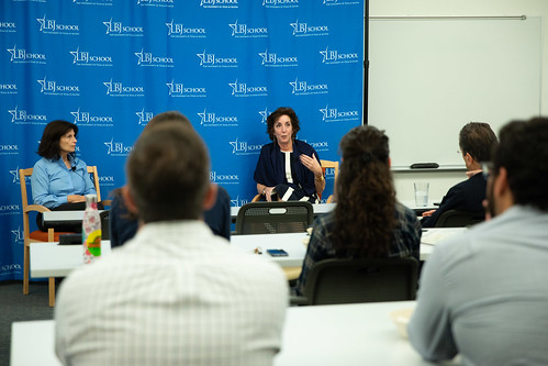 Roberta Jacobson, former Ambassador to Mexico, visits LBJ School