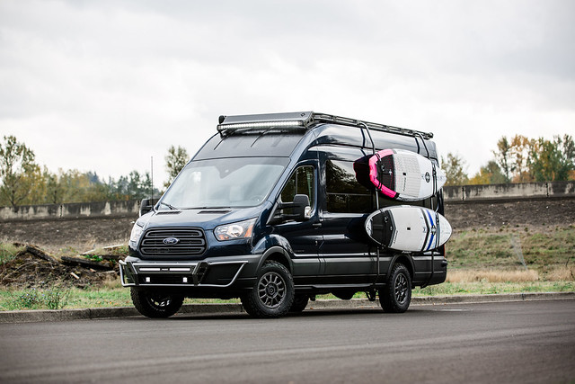 Black Rhino Havasu on Ford Transit
